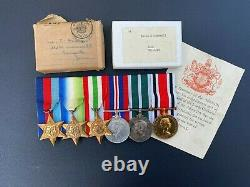 WW2 Royal Naval Reserve & Cornwall police medal group Interesting history