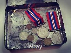 WW2 War Service Medal Punjab Regiment & Royal Indian Army Brothers Medals Singh