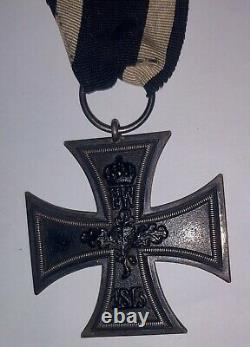 WWI Imperial Medal German Iron Cross