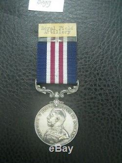 Ww1 1917 MM Gallantry Military Medal Ex Royal Navy