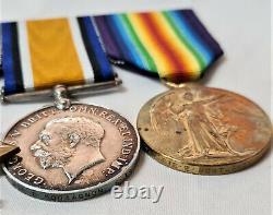 Ww1 Died Wounds Battle Somme Medal Group 7542 Montagnon Royal Irish Regiment