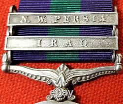 Ww1 Era General Service Medal Iraq & N. W. Persia Pte Joyce. Royal Irish Fusiliers