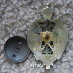 Ww1 Imperial Russian Officers Badge Cossack Medal Original Super H