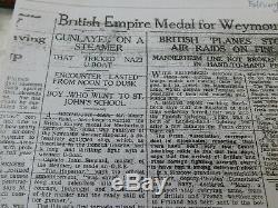 Ww1 Ww2 U-boat Action Bem British Empire Medal Group Royal Marine Pensioner Read