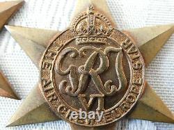 Ww2 Raf Royal Air Force Air Crew Europe Star Medal 1940 Casualty 105 Sqn- Knight