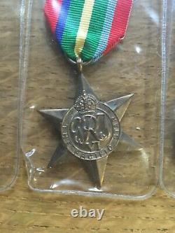 Ww2 Royal Navy Medal Group Served On Hms Basilisk Dunkirk