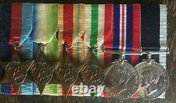 Ww2 Royal Navy Medal Group Served On Hms Electra
